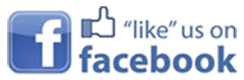 Facebook like us logo